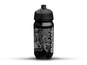 Rie:sel Design bot:tle Trinkflasche | 0,5 Liter | stickerbomb ultra black