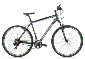 Ciclista Cross Herren 2018 | 55 cm | black blue green