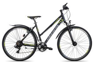Ciclista All Road Trapez 2018   50 cm   black blue lime