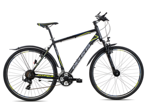 Ciclista All Road Herren 2018 | 55 cm | black blue lime