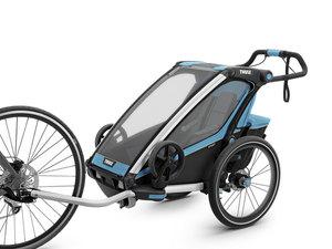 Thule Chariot Sport Multisport-Fahrradanhänger   1 Kind   blue black