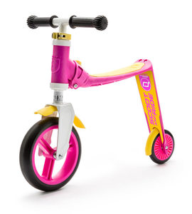 Scoot and Ride Highwaybaby | unisize | pink gelb