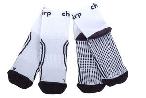 Chirp Bike-Socken 2er Set | 47-49 | weiß