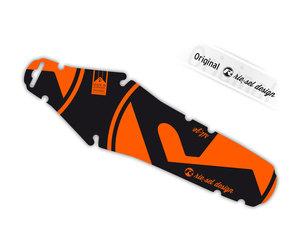 Rie:sel Design rit:ze Steckblech | unisize | orange