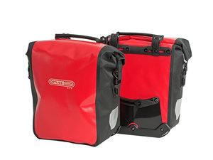 Ortlieb Sport-Roller City Fronttaschen | 25 Liter | rot schwarz