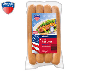 AMERICAN Grill Hot Dogs