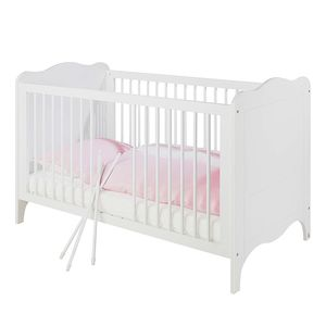 Kinderbett Fleur - Weiß - Edelmatt, Pinolino
