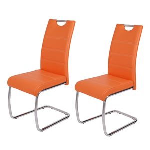 Freischwinger La Paz (2er-Set) - Orange, Home Design