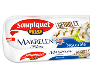 SAUPIQUET Makrelen Filets