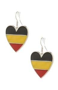 Deutschlandflagge-Ohrringe zur WM
