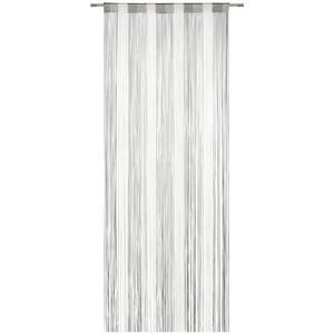 Fadenstore String Grau/Weiß