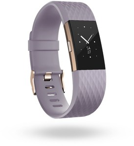 Fitbit Charge 2 (L) Activity Tracker lavendel/rosé-gold