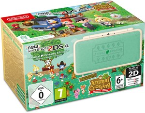 Nintendo New 2DS XL Animal Crossing Edition + AC: New Leaf Welcome amiibo