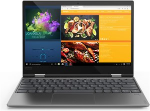 Lenovo Yoga 720-12IKB (81B5001CGE) 31,8cm (12,5´´) 2 in 1 Convertible-Notebook platinum