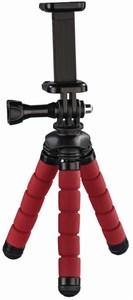 Hama Flex Mini-Stativ für Smartphone und GoPro rot