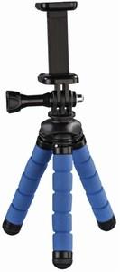Hama Flex Mini-Stativ für Smartphone und GoPro blau