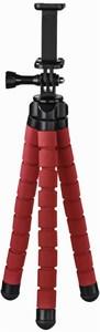 Hama Flex (26cm) Stativ für Smartphone und GoPro rot