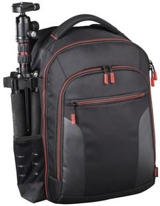 Hama Kamera-Rucksack Miami 190 schwarz/rot