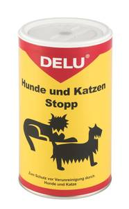Hunde- und Katzen Stopp - 200 gr. Delu
