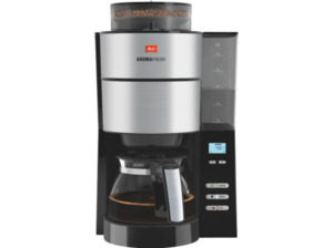 MELITTA 1021-01 AromaFresh, Kaffeefiltermaschine, Schwarz/Edelstahl
