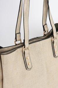 Shopper-Tasche mit doppeltem Griff