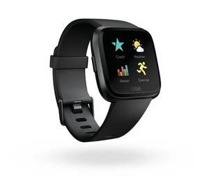 Fitbit Smart Watch Versa schwarz