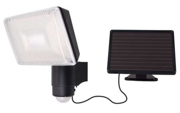 led strahler solar solar powered security light schn. Black Bedroom Furniture Sets. Home Design Ideas