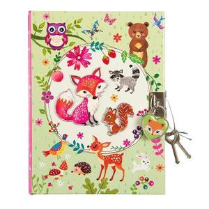 Tagebuch mit Schloß