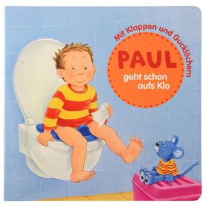 Bilderbuch Paul geht schon auf Klo