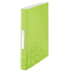 LEITZ             WOW Ringbuch A4 grün