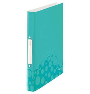 LEITZ             WOW Ringbuch A4 Eisblau