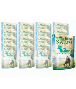 Dehner Best Nature für Katzen Adult, Nassfutter, 16 x 85g