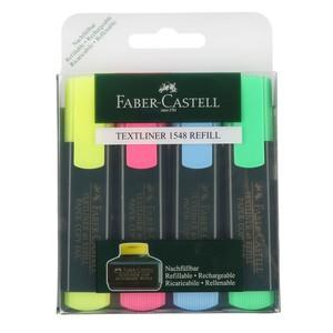 Faber Castell Textmarker, 4er-Set