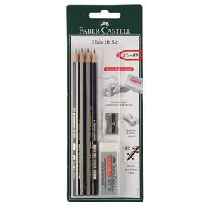 Faber Castell Bleistift-Set, 6-teilig