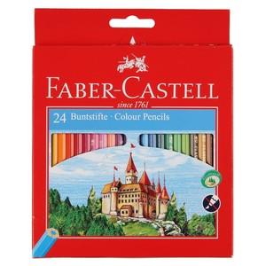 Faber Castell Buntstifte, 24er-Set