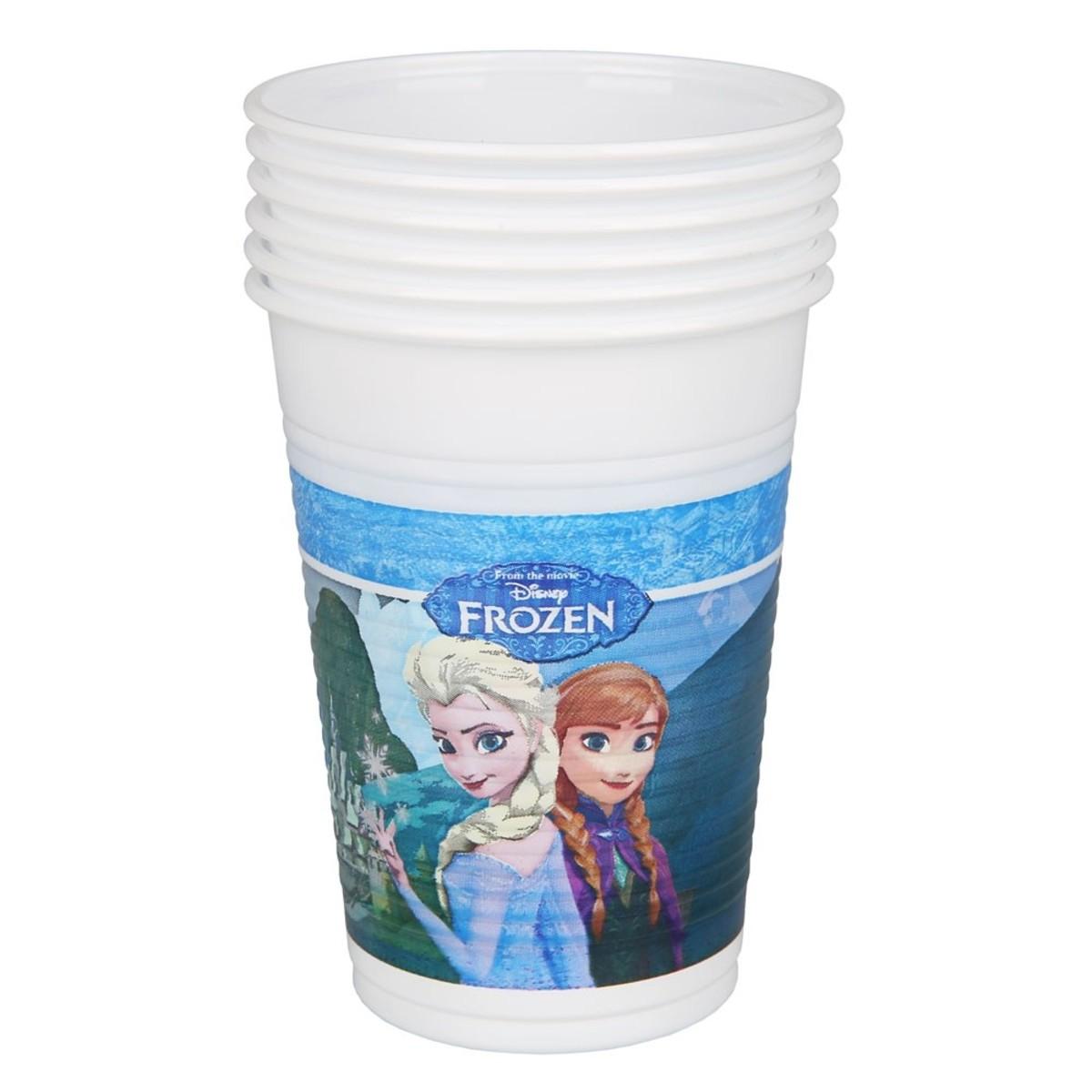 Bild 1 von Einwegbecher Frozen, 6er-Pack