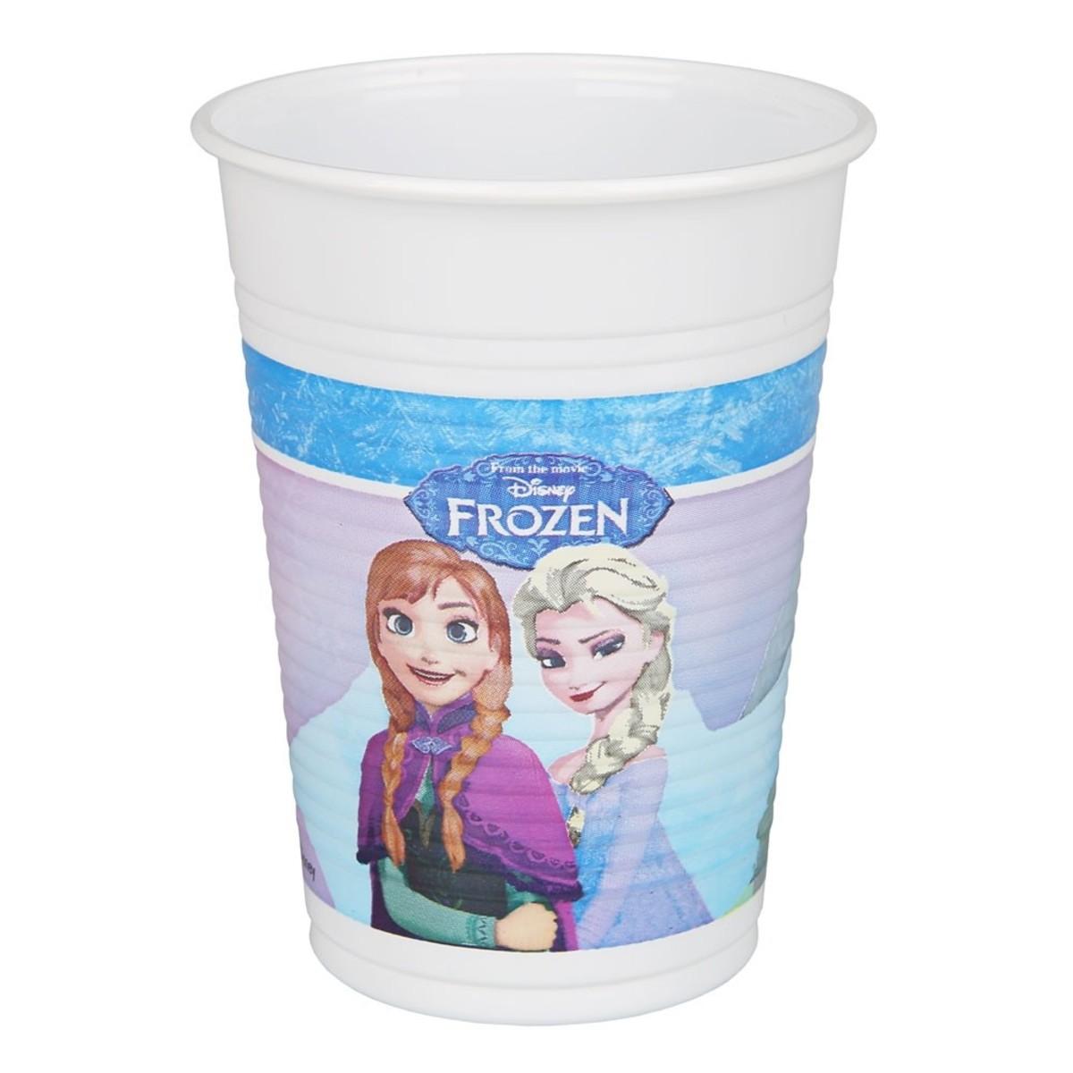 Bild 2 von Einwegbecher Frozen, 6er-Pack