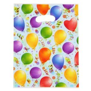 6 Partytüten Ballonmotiv