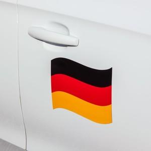 Automagnet Fahne Deutschland klein