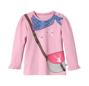 Liegelind Baby-Mädchen-Shirt mit feschem Motiv