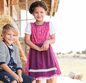 Kids Kinder-Mädchen-Kleid mit süßen Tier-Motiven