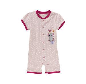 Liegelind Baby-Mädchen-Schlafanzug mit Herz-Muster