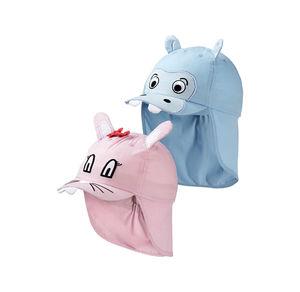 Baby-Mütze mit süßem Tiergesicht