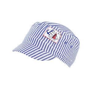 Baby-Jungen-Kappe mit Streifenmuster
