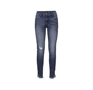 Laura Torelli COLLECTION Damen-Jeans mit trendigem Beinabschluss