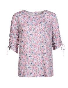 Bexleys Edition - Shirtbluse mit Millefleursdruck