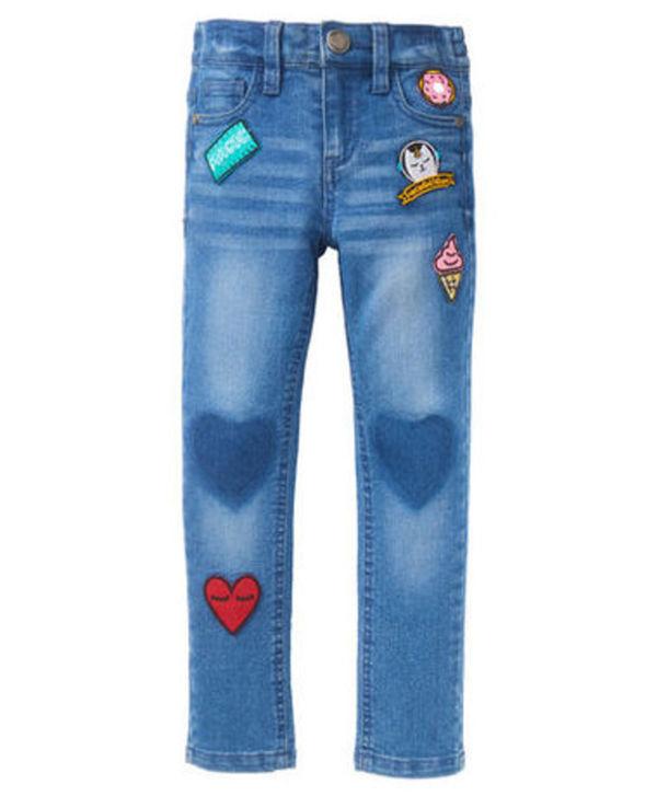 modernes Design Großhandelspreis Brauch Jeans - Aufnäher