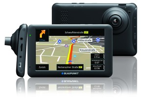 Blaupunkt Navigation mit eingebauter DashCam TravelPilot 53 CAM EU LMU