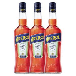 Aperol 15 % Vol., 0,7-l-Flasche, ab 3 Flaschen