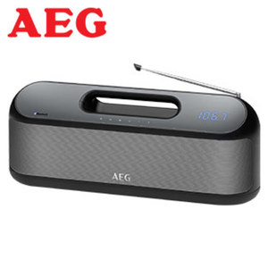 Bluetooth®-Stereo-Lautsprecher SR4842BTS • LED-Display, PLL-Tuner • Stereo-Lautsprecher (2 x 10 Watt) • USB-/Aux-Anschluss • Netz- oder Akkubetrieb